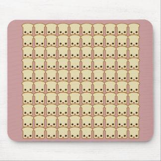vida de las tostadas de las porciones mousepad