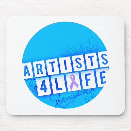 Vida de los artistas 4 mousepad