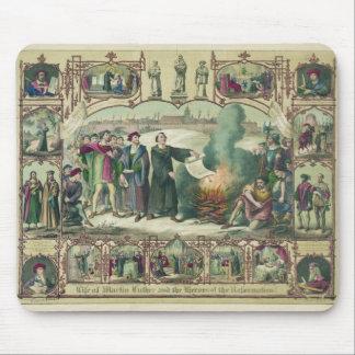 Vida de Martin Luther y héroes de la reforma Alfombrillas De Ratones