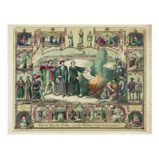 Vida de Martin Luther y héroes de la reforma Tarjetas Postales