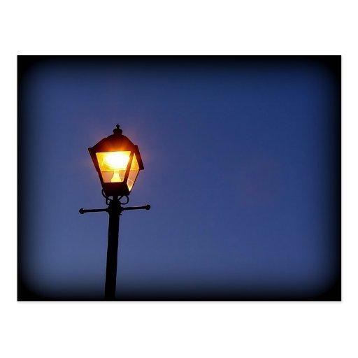 Vida de noche postales