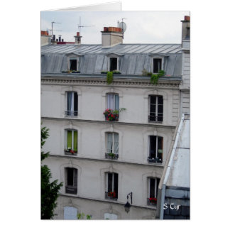 Vida de París, S Cyr Tarjeta De Felicitación