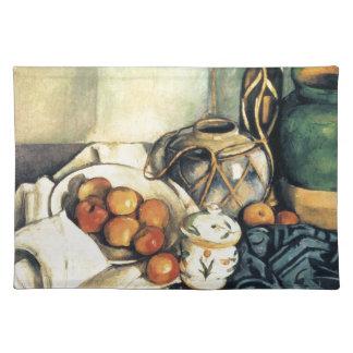 Vida de Paul todavía Cezanne con las manzanas Manteles Individuales