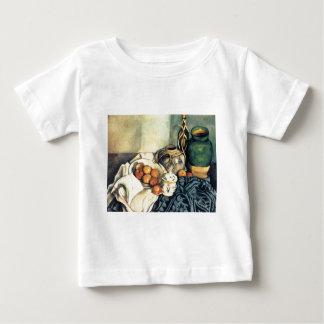 Vida de Paul todavía Cezanne con las manzanas Playera De Bebé