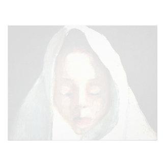 Vida de Paula Becker-Aún, la cabeza del niño, paño Membrete A Diseño