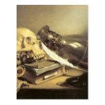Vida de Pieter Claesz todavía Vanitas Postales