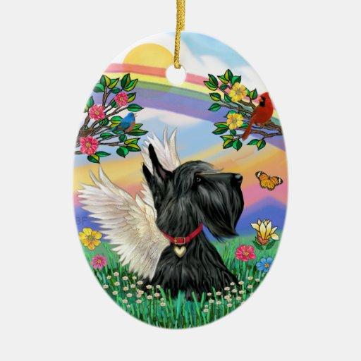 Vida de Rianbow - escocés Terrier Adorno Para Reyes