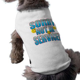 Vida de servicio triste B Playera Sin Mangas Para Perro