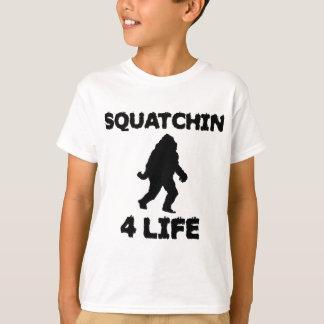 Vida de Squatchin 4 Polera