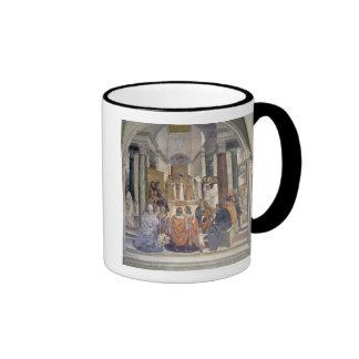Vida de St. Benedicto (fresco) (detalle) Taza De Dos Colores