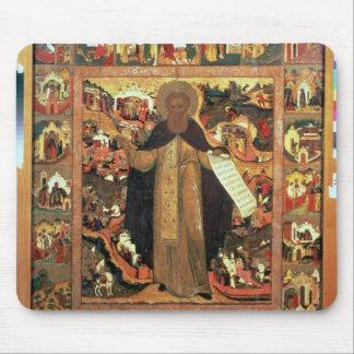 Vida de St. Sergius de Radonesh, 1640s Alfombrilla De Ratones
