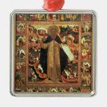 Vida de St. Sergius de Radonesh, 1640s Ornato