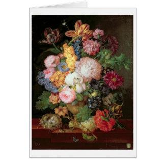 Vida de T30763 todavía A de las flores y de la fru Tarjeta De Felicitación