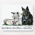 Vida de Terrier del escocés buena Alfombrillas De Raton