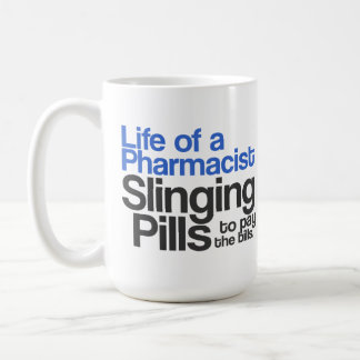 Vida de una taza del farmacéutico