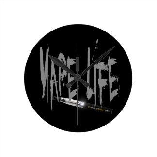 ¡Vida de Vape! Relojes De Pared