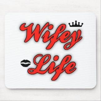 Vida de Wifey Tapetes De Raton