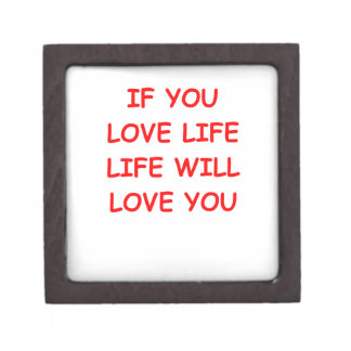 vida del amor caja de regalo de calidad