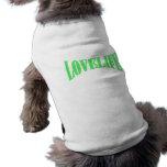 Vida del amor camisa de perro