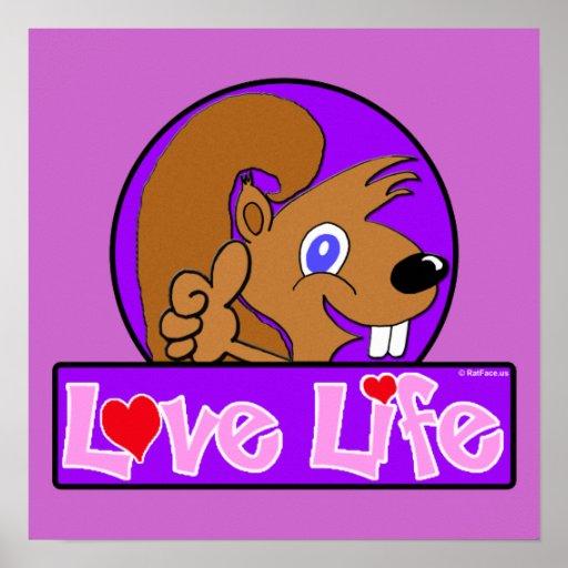 Vida del amor póster