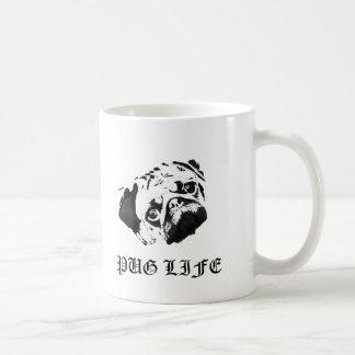 Vida del barro amasado taza de café