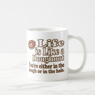Vida del buñuelo tazas de café
