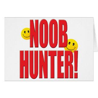Vida del cazador de Noob Tarjeta De Felicitación