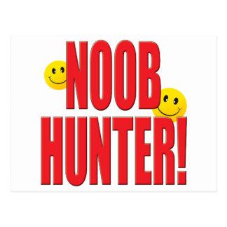 Vida del cazador de Noob Postales
