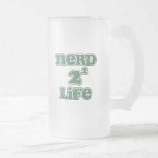 Vida del empollón 4 taza de cristal