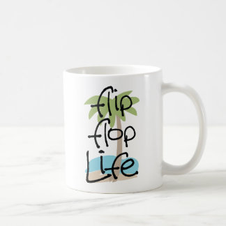 Vida del flip-flop taza clásica
