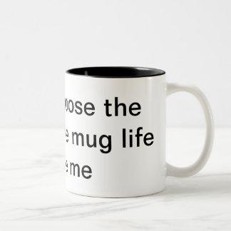 vida del gamberro de la vida de la taza