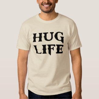 Vida del gamberro de la vida del abrazo poleras