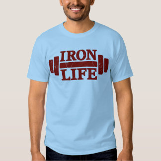 Vida del hierro playeras