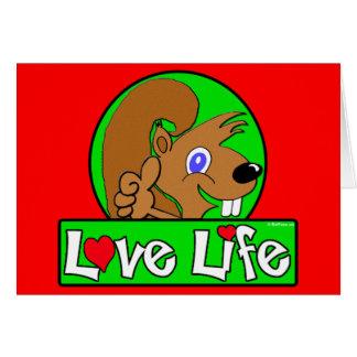 vida del lLove Felicitación