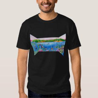 Vida del océano: Ahorre el planeta: La camiseta Polera