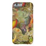 Vida del océano de Actinae de Ernst Haeckel Funda De iPhone 6 Barely There