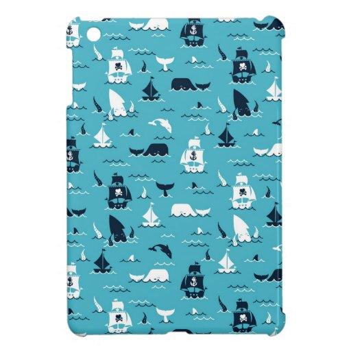 vida del océano iPad mini carcasas