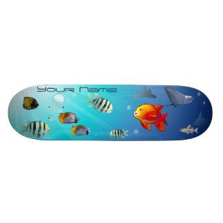 Vida del océano patin