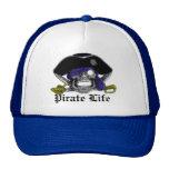 Vida del pirata gorras de camionero
