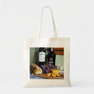 Vida del queso y todavía de las uvas del pan del v
