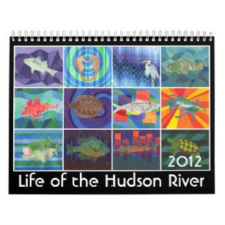 Vida del río Hudson Calendario