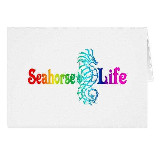 Vida del Seahorse Felicitaciones