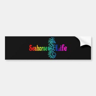Vida del Seahorse Pegatina Para Auto