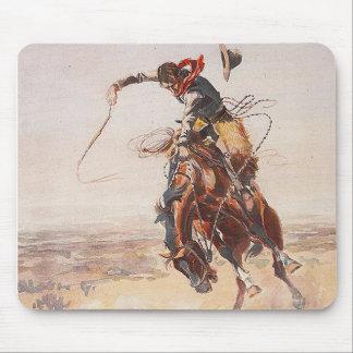 Vida del vaquero de la CAMISETA Tapetes De Raton
