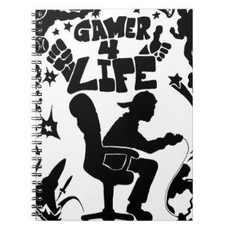 Vida del videojugador 4 cuadernos