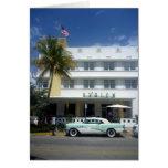 vida del vintage de Miami Felicitación