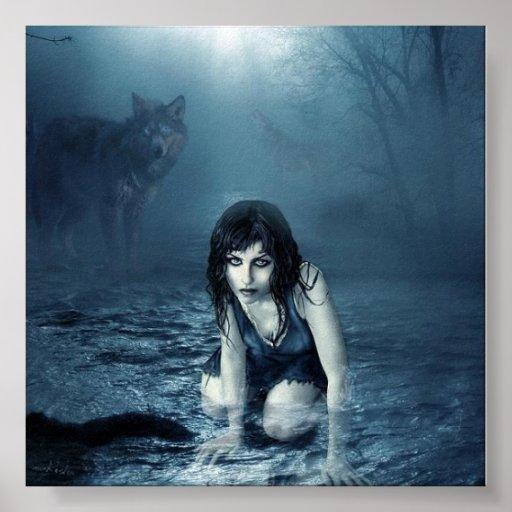 Vida dentro de los lobos póster