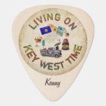 Vida el el tiempo de Key West Púa De Guitarra