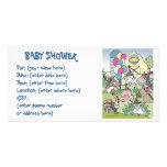 Vida en el campo 20 fiestas de bienvenida al bebé tarjeta con foto personalizada