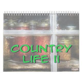 Vida en el campo II Calendarios De Pared